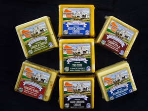 Henning's Cheddar Cheeses