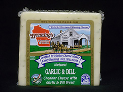 Henning's Garlic & Dill Cheddar Cheese