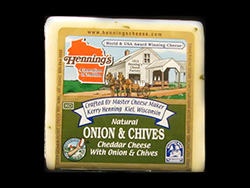 Henning's Onion & Chive Cheddar